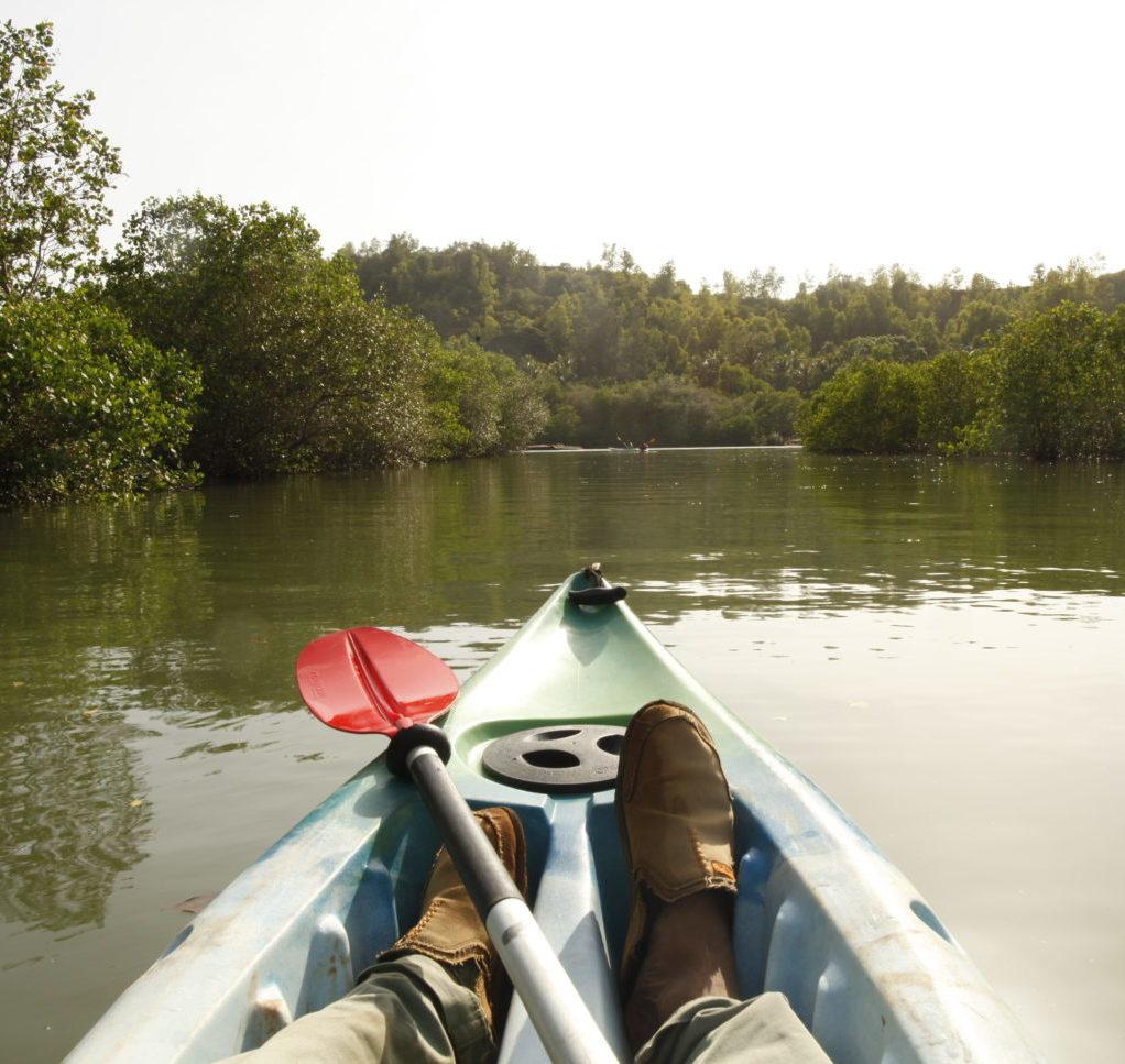 Shunya Chi experience - Kayaking